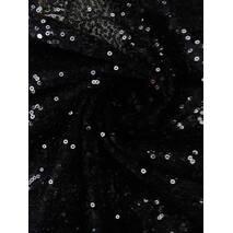 Пайетки мелкие  чёрный