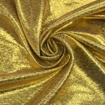 Парча золото плотное