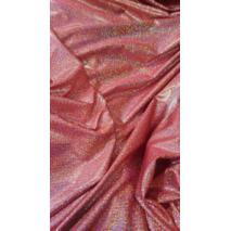 Ткань Сваровски красная