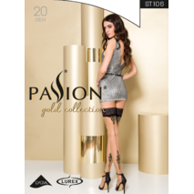 Чулки ST106 1/2 beige - Passion