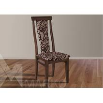 Столовий гарнітур Едельвейс зі стільцями горіх