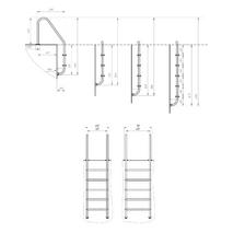 Лестница Trianon 600 х 2 купить недорого