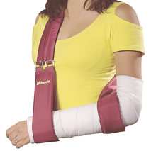 Бандаж ремінь для підтримки руки м'який Miracle код 0061
