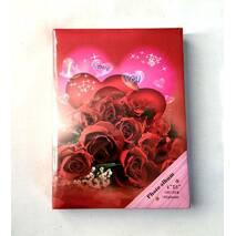 Фотоальбом серії троянди з місцем для запису на 180 фотографій 10х15 см