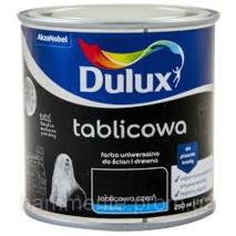 Акрилова фарба Dulux для шкільних дошок  матова чорна 0,25 л.