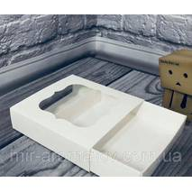 Коробка з віконцем  12х12х30 мм