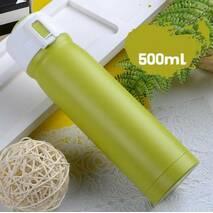 Термос для холодных и горячих напитков 500 мл зеленый