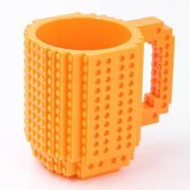 Чашка-конструктор SUNROZ з деталями в комплекті 350 мл Оранжевий (3780)