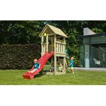Дитячий ігровий майданчик Blue Rabbit KIOSK, будиночок з гіркою