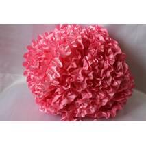 Рюші - атлас, 5см*50м  Рожевий