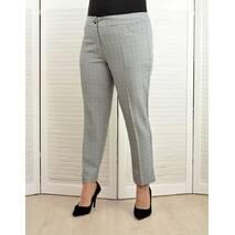 Комплект: Жилет и брюки в клетку серые - Модель Л234-1к