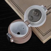 Термос Starbucks - тамблер термокружка с безопасной крышкой (Старбакс) 450 мл черный