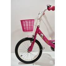 """Велосипед 16""""- Remmy VIOLETTA рама10"""" розово-белый (глянец)"""