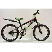 "Велосипед 20""- Remmy GRAVITI рама 10.5"" черно-фолетовый (м)"