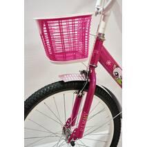 """Велосипед 20""""- Remmy VIOLETTA рама-13"""" розово-белый (глянец)"""
