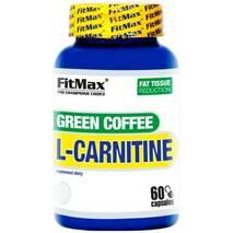Жиросжигатель Green COFFEE L - Carnitine FitMax 60 капс