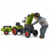 Педальний трактор з причепом FALK Claas Arion 2041c