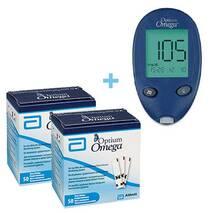 Глюкометр Optium Omega   100 тест-полосок (ABBOTT, США)
