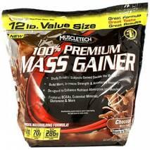 Гейнер 100% Premium Mass Gainer Ваніль Muscletech 5,5 кг
