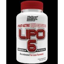 Жиросжигатель Lipo - 6 Nutrex Research liqui- капс. 120