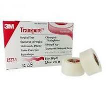 Пластырь 3M Micropore Transpore 2,5 см х 9,1 м, арт.1527-1-i