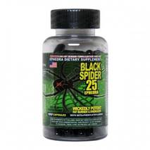 Жиросжигатель Black Spider Cloma Pharma 100 капс