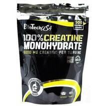 Креатин 100% Creatine MONOHYDRATE BioTech 500 г