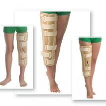 Бандаж на колінний суглоб з ребрами жорсткості з посиленою фіксацією 6112 Med textile