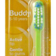 Зубна щітка дитяча Buddy Jordan від 5 до 10 років (м'яка)