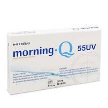 Контактные линзы Morning Q 55 UV опт. сила -4,25 (уп. 1 шт)