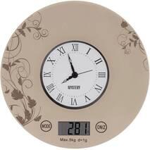 Весы-часы кухонные электронные MYSTERY MES-1818