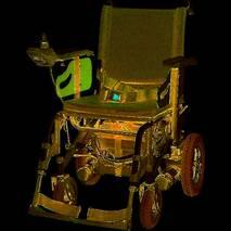 Коляска инвалидная многофункциональная с электроприводом JT-320 Heaco