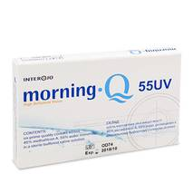 Контактные линзы Morning Q 55 UV опт. сила -2,5 (уп. 1 шт)