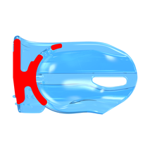 Трейнер MYOBRACE® J1 блакитний (від 3-ех років) 410011 MYORESEARCH