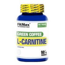 Жиросжигатель Green COFFEE L - Carnitine FitMax 90 капс