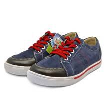 Кеды на шнурках 612 (тёмно-голубые) ORTHOBE