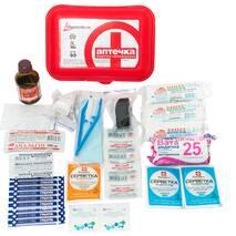 Аптечка медицинская универсальная согласно ТУ пластиковый футляр