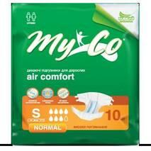 Підгузники MyCo Normal S (64-89 см) 10 шт