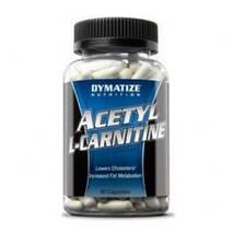 Жиросжигатель Acetyl L - carnitine Dymatize 90 капс