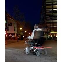 """Инвалидная коляска с электроприводом """"FDX"""", Invacare (Германия)"""