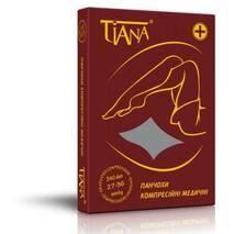 Панчохи антиварикозні лікувальні Tiana арт.965, компресія 27-36 мм рт.ст., відкрита шкарпетка (Італія)