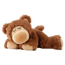 Игрушка-грелка Спящий мишка шоколадный Intelex