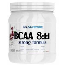 Амінокислоти BCAA 8 : 1: 1 Strong Formula Полуниця AllNutrition 400 гр