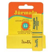 Dzintars (Дзинтарс) Сонцезахисний бальзам для губ Юрмала SPF15 7 мл