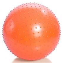 Фитбол (м'яч для фитнеса) голчастий (діаметр 75 см) М- 175 Тривес