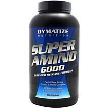 Амінокислоти Super Amino 6000 Dymatize 500 капс