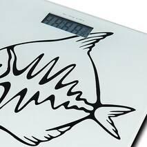 Электронные весы для ванной комнаты на стеклянной платформе 5854 Momert
