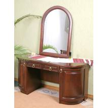 Туалетний столик з дзеркалом Омега з дерева