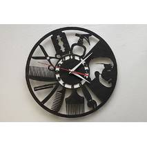 Дизайнерський настінний годинник для Barbershop