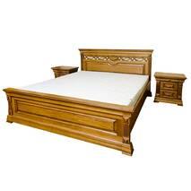 Двуспальная кровать Элеонора нова из массива дуба